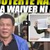 DUTERTE NATAWA SA BASURANG WAIVER NI TRILLANES!