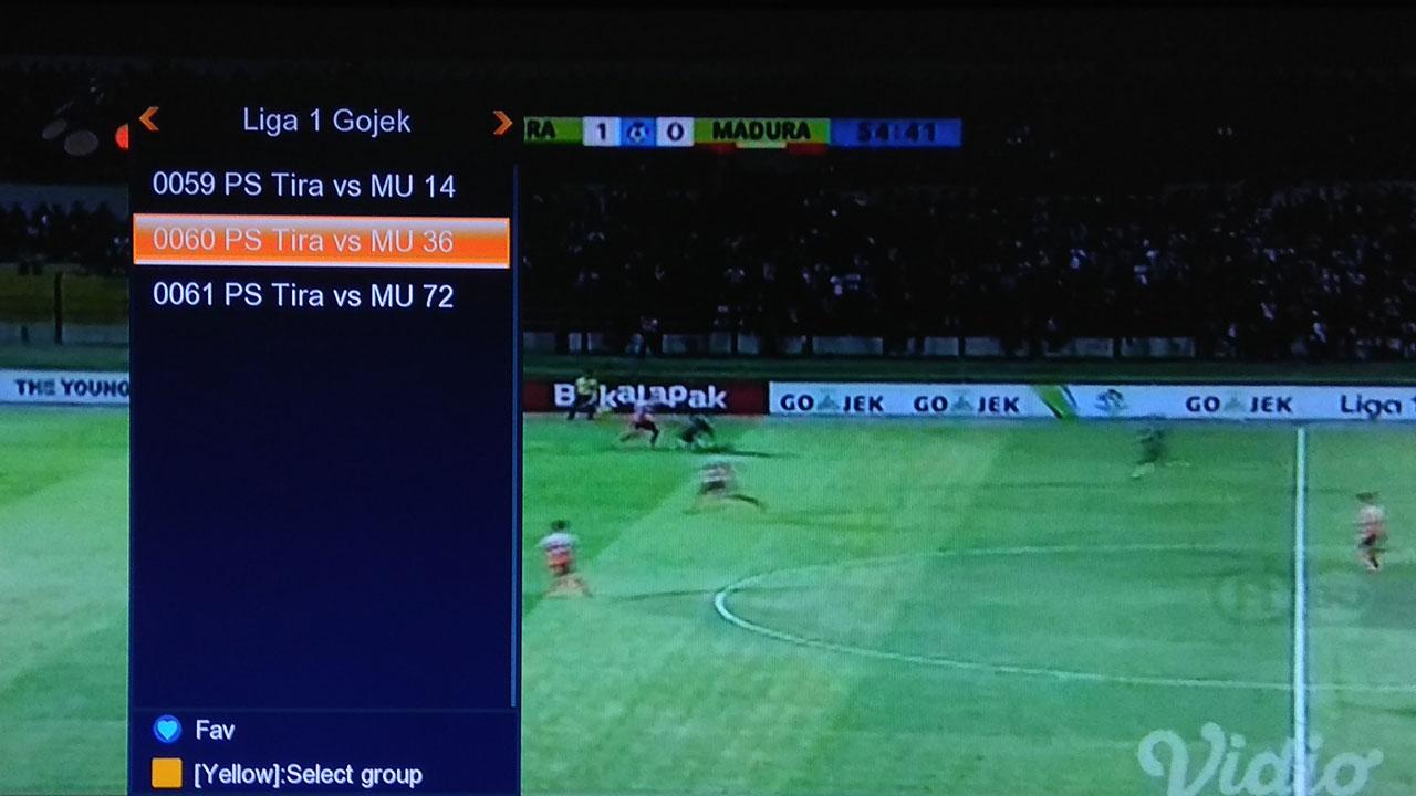 Cara Nonton IPTV Skybox A1 Old dan Venus Meteor HD