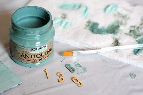 Antikoló festék használata
