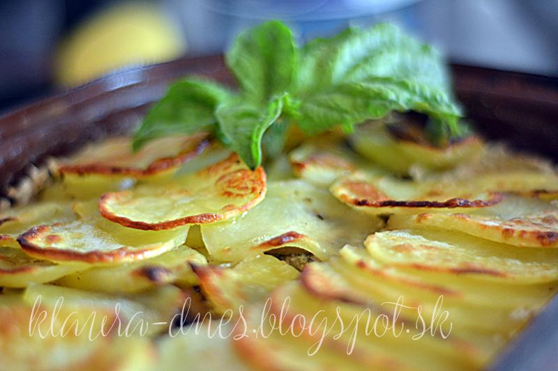 235/365     Gratinované zemiaky