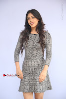 Actress Chandini Chowdary Pos in Short Dress at Howrah Bridge Movie Press Meet  0095.JPG