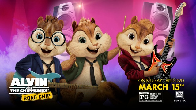 Alvin and the Chipmunks #RoadChip Movie and Sweepstakes