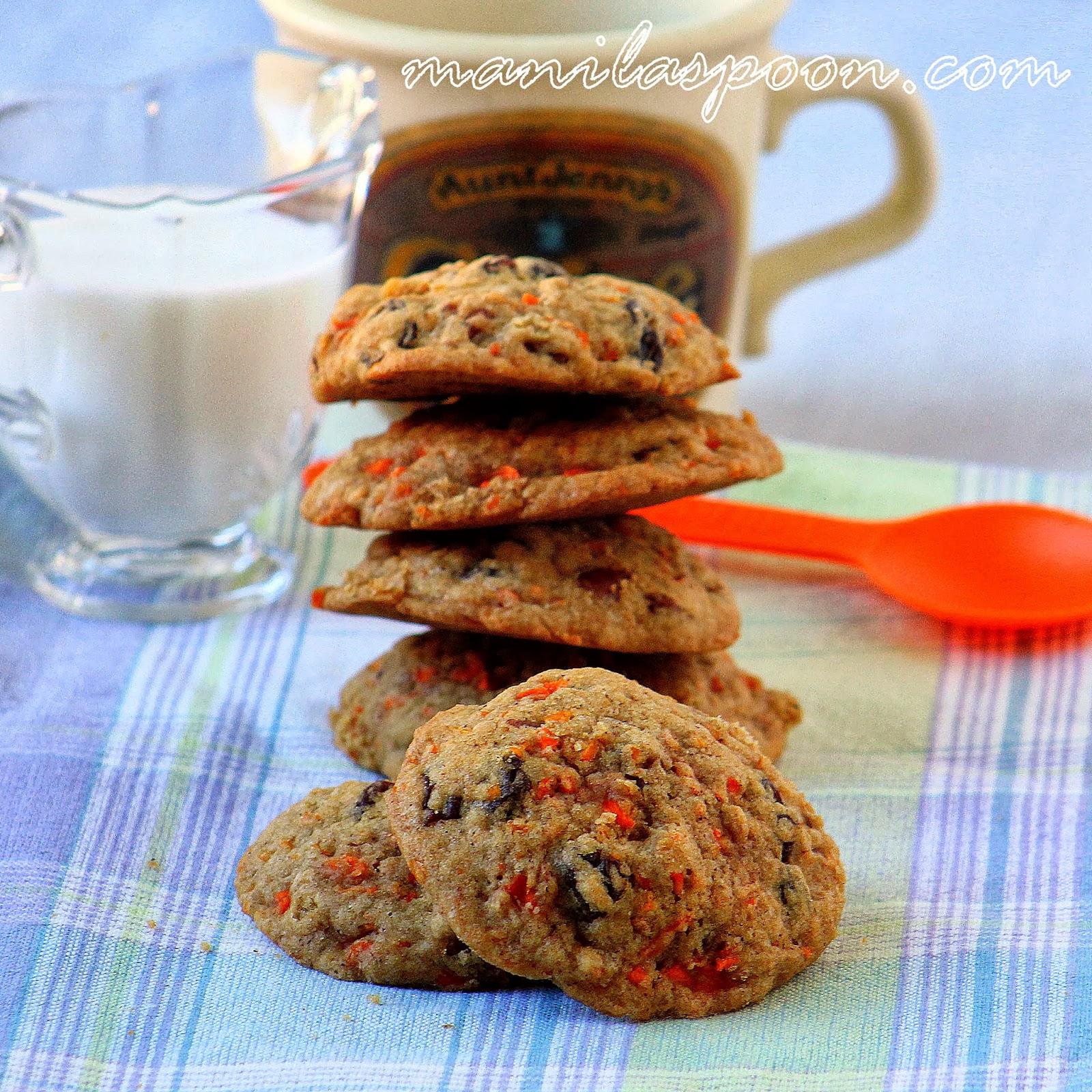 Scrumptious Carrot Cake Cookies