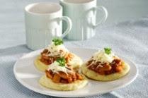 Resep Pancake Kentang Bolognaise
