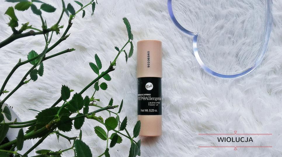 Bell HYPOAllergenic,  Hypoallergenic Blend Stick Make-up ⋅ Hypoalergiczny intensywnie kryjący podkład w sztyfcie