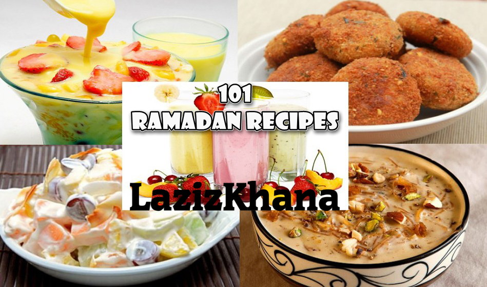 101 रमज़ान रेसिपीज़ - 101 Ramadan Recipes in Hindi - 101 Iftar Recipes in Hindi