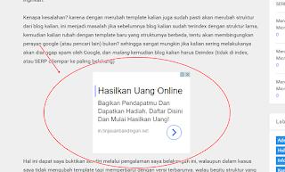 contoh iklan teks