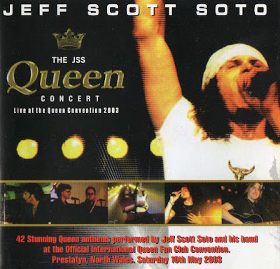 The Jeff Scott Soto - Queen Live Concert Convention (Video)