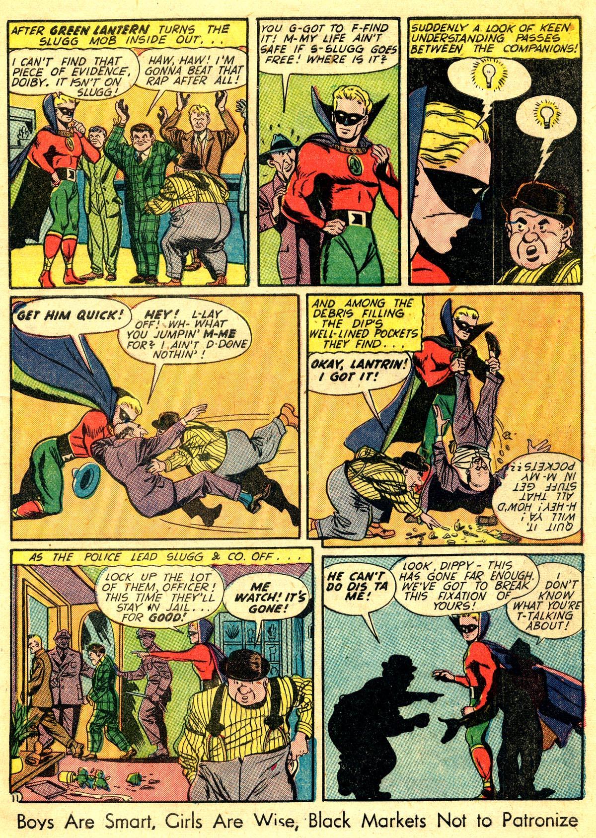 Read online All-American Comics (1939) comic -  Issue #60 - 13