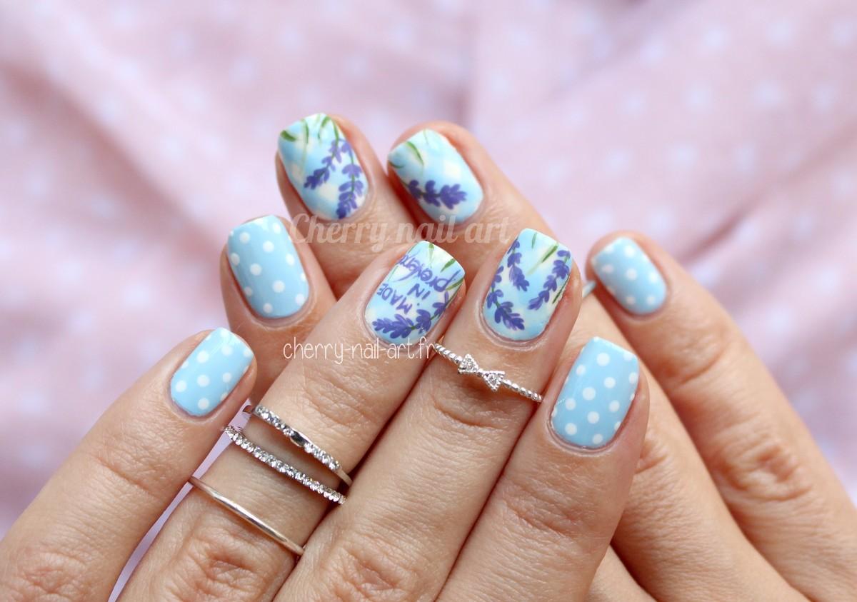 nail-art-lavande-pois-vichy