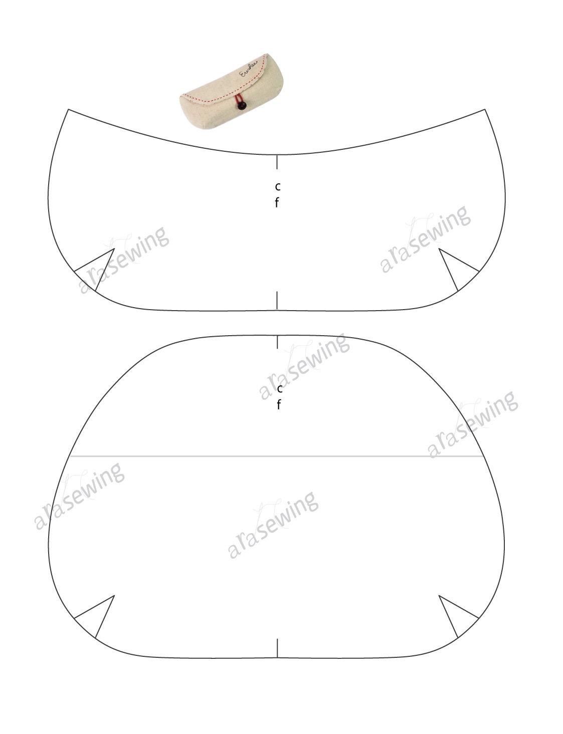 Eyeglass Case Tutorial Free Tutorial