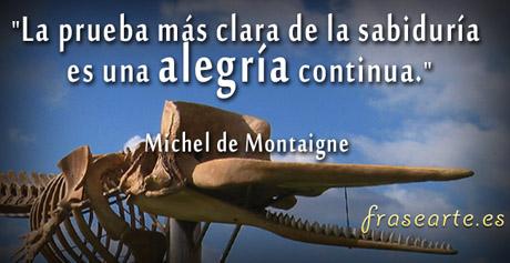 Frases para sonreir, Michel de Montaigne