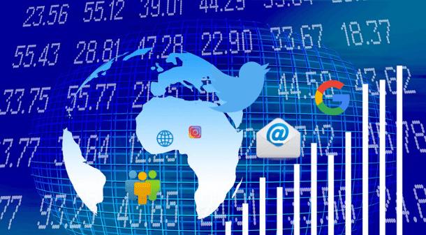 दुनिया भर में इंटरनेट की सांख्यिकी