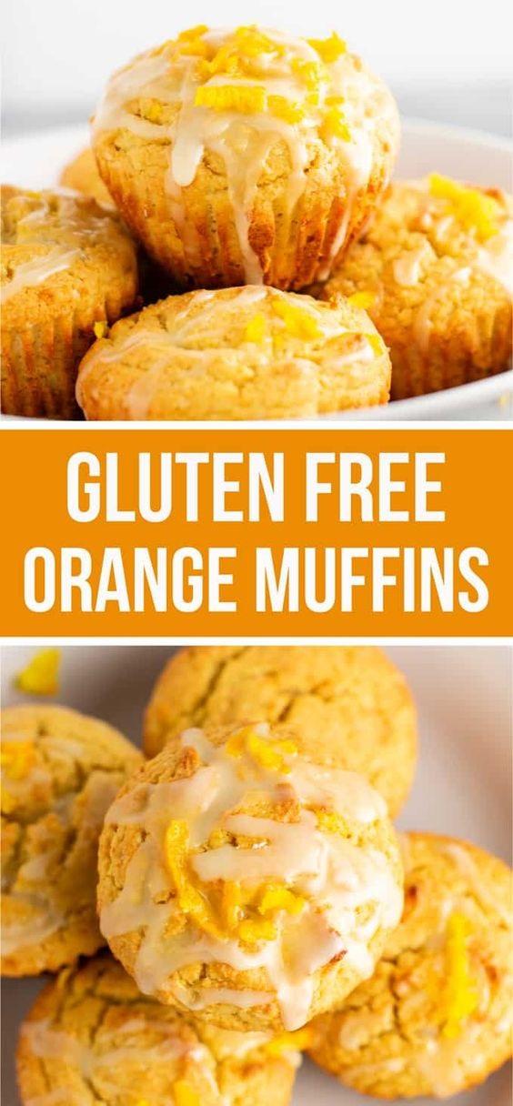 Gluten Free Orange Muffins