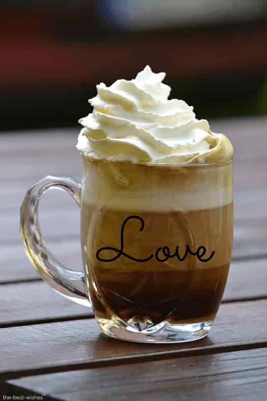 coffee cup whipped cream rest image