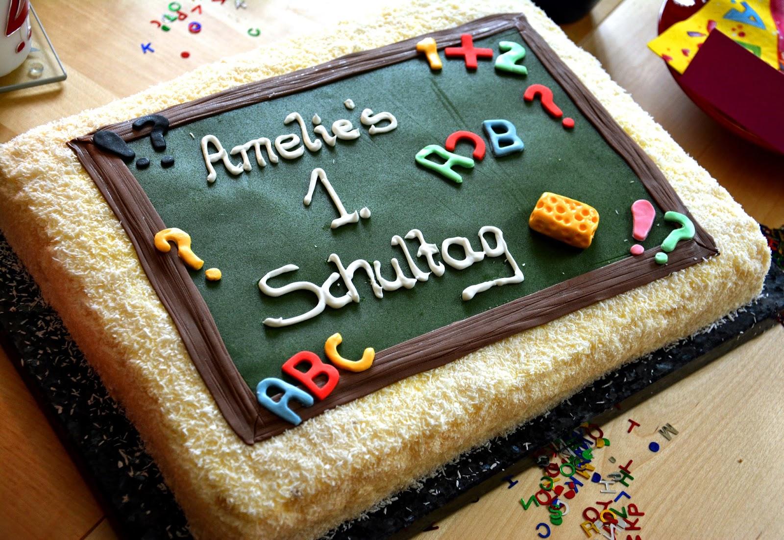 Torte Zur Einschulung Bakerydoings