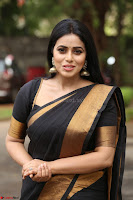 Poorna in Cute Backless Choli Saree Stunning Beauty at Avantika Movie platinum Disc Function ~  Exclusive 075.JPG