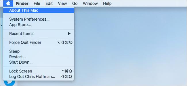 Informazioni su questo Mac