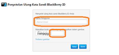mengganti password bbm android