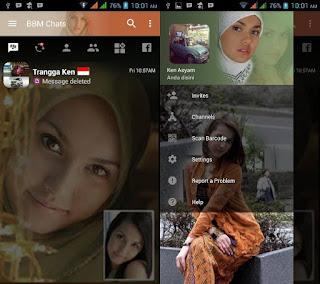 BBM MOD Siti Maria Ozawa v3.2.0.6 APK Versi Terbaru