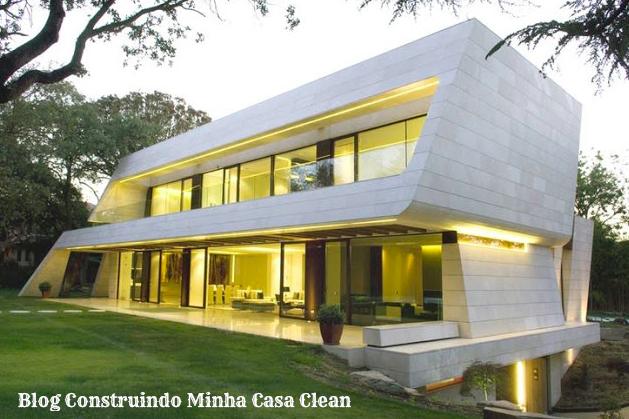 Construindo minha casa clean fachadas de casas em Cheap modern house design