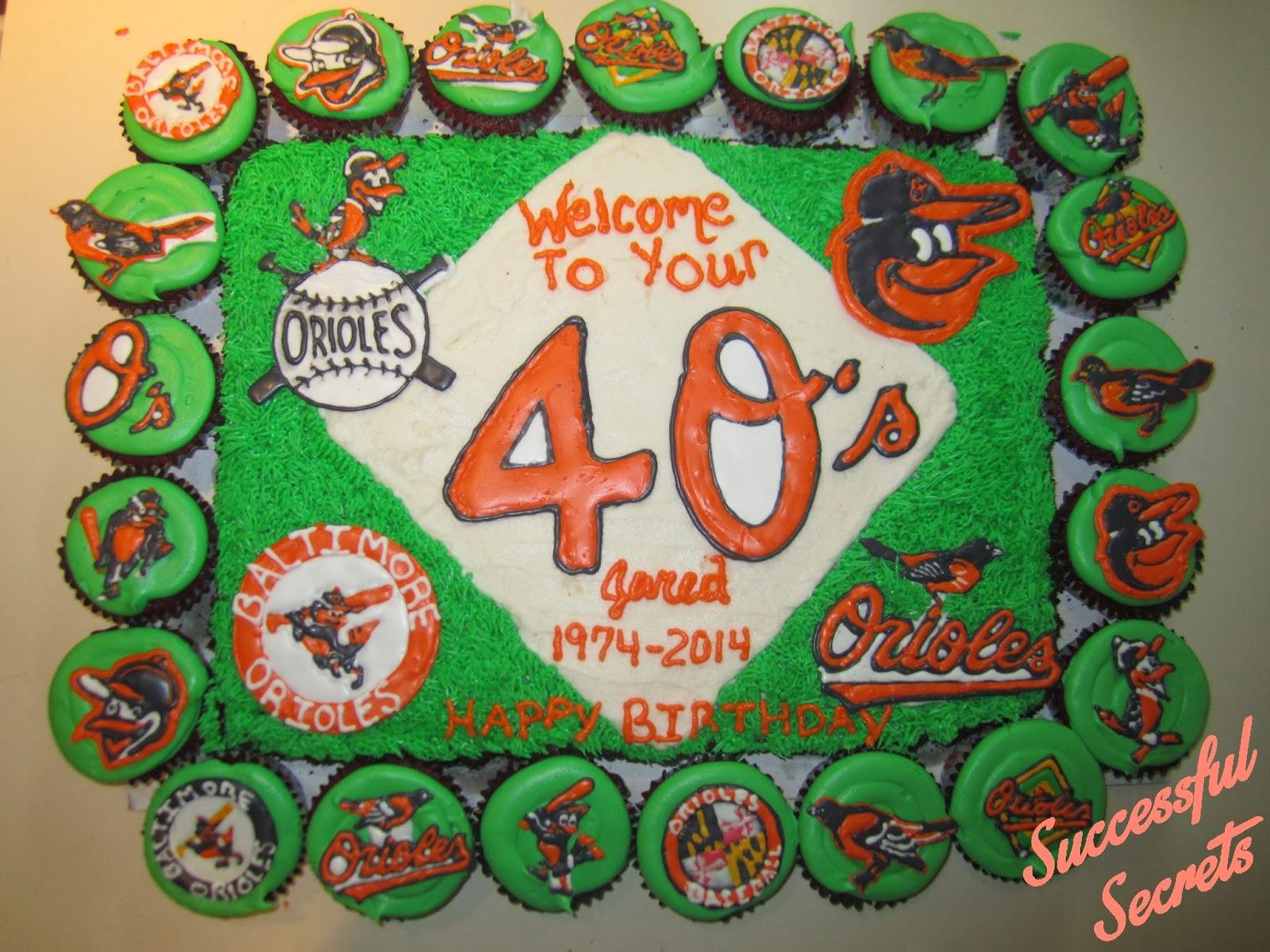 Peachy Successful Secrets Baltimore Orioles Birthday Cake Personalised Birthday Cards Akebfashionlily Jamesorg