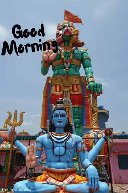statue temple hanuman monkey god image