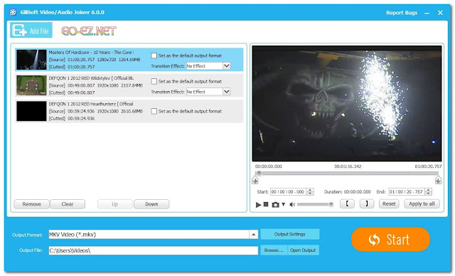 GiliSoft Video Editor 8.1.0 - Phần Mềm Edit Video