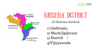 Krishna District Revenue Divisions and Mandals