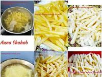 Resep Kentang Goreng Crispy Ala KFC