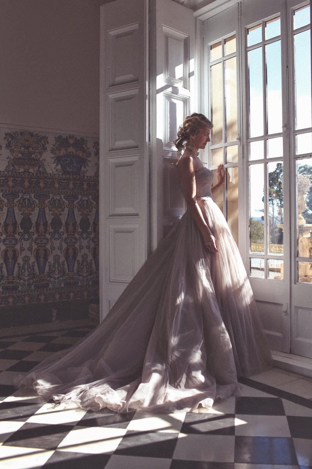 vestido novia pronovias de tul
