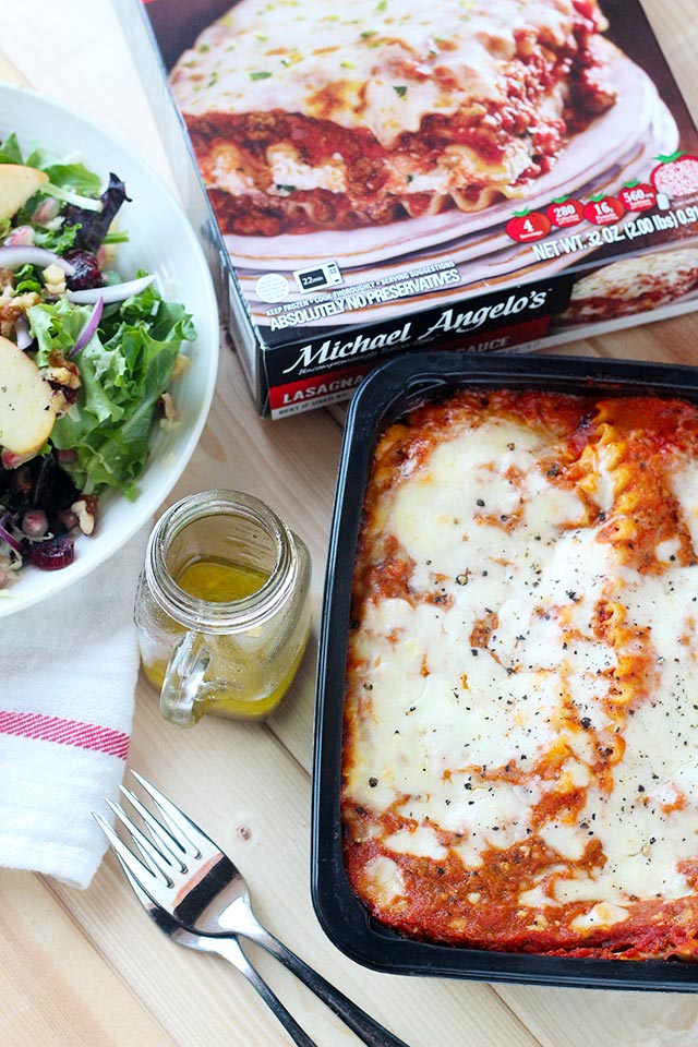 Easy Lasagna Dinner + 15 Quick Salad Recipes