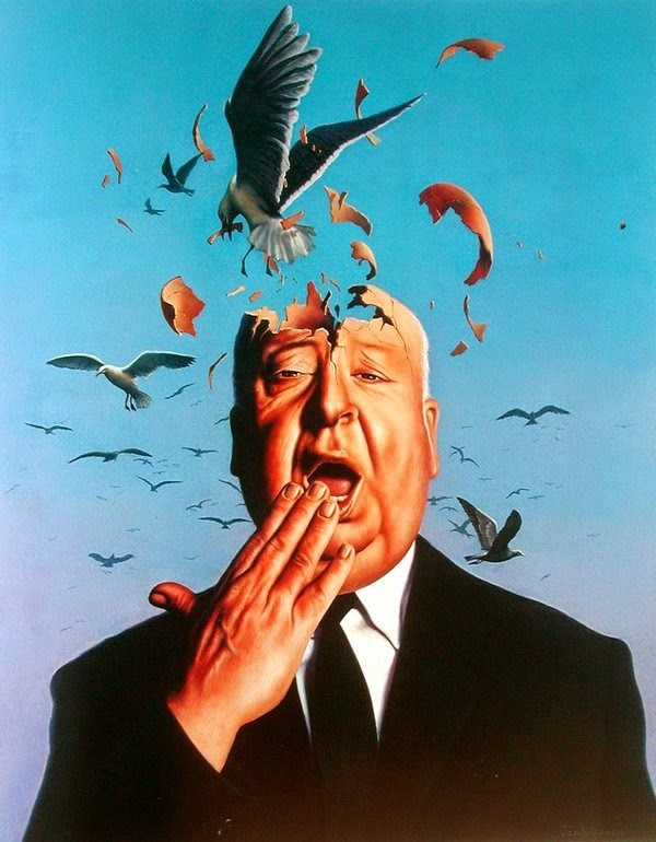 Os Pássaros - Jim Warren pinta sonhos e ilusões de maneira fantástica.
