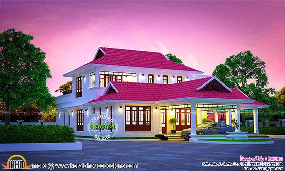 Stunning Kerala traditional house