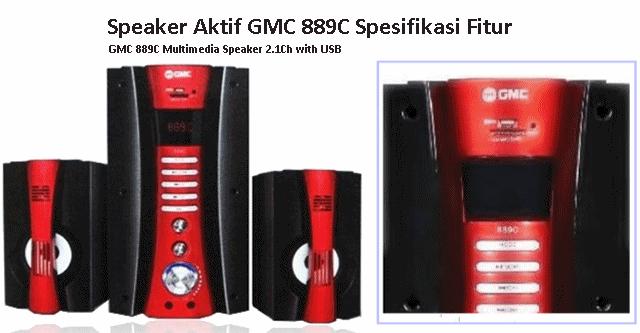 Harga Speaker Aktif GMC 889B dan Spesifikasi