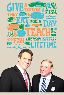 Give a person a fish, they eat for a day. Teach a person to fish and they eat for a lifetime.