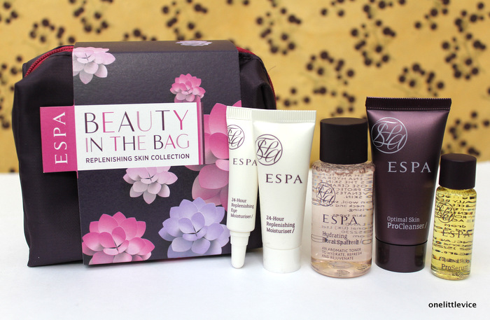 One Little Vice Uk beauty Blog: ESPA Skincare Beauty in the Bag Free Gift with Purchase March 2015