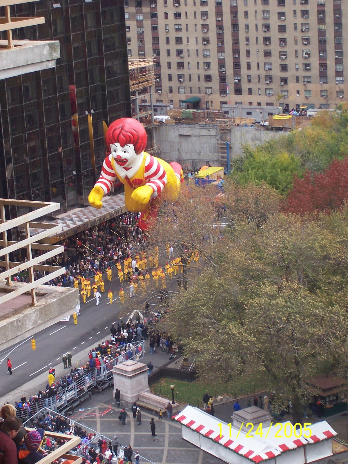 Macy S 10th Birthday Party At Dylan S Candy Bar: Attempted Bloggery: The 2005 Macy's Thanksgiving Day Parade