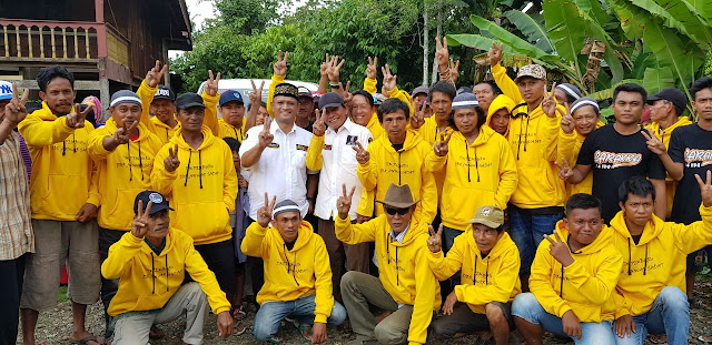 Ratusan Keturunan Toraja di Lompo Loang Siap Menangkan Pasangan BARAKKA