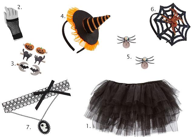 Accessoires déguisement sorcière chez Claire's blog mariage et jolies fêtes www.unjourmonprinceviendra26.com