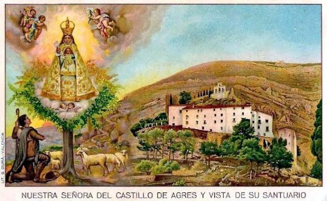 Agres (Alicante).