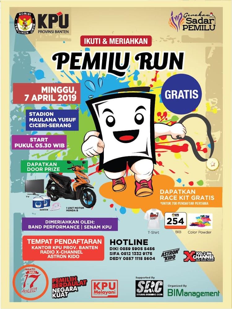 Pemilu Run - Banten • 2019
