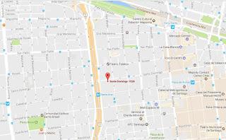 restaurante Majestic India mapa ubicacion