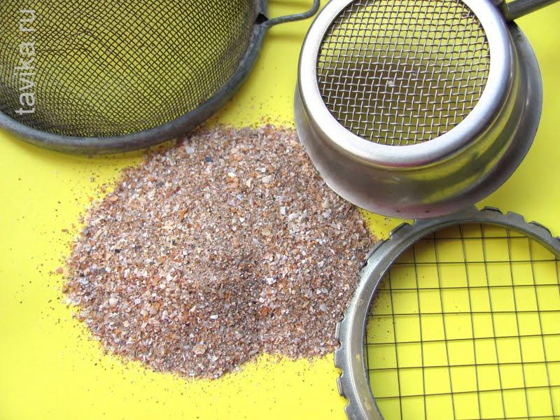 опыт с песком для детей