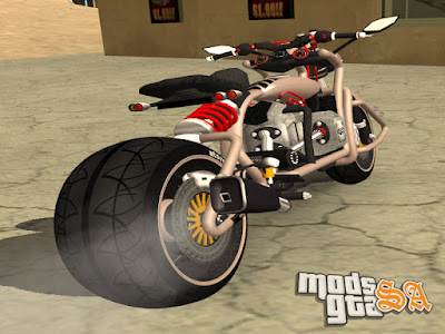 TurBike Moto Custom para GTA San Andreas