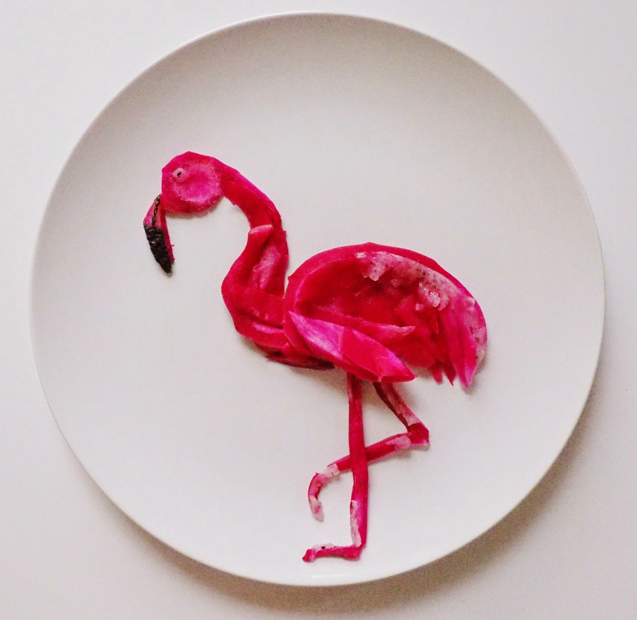 13-Flamingo-Lauren-Purnell-Love-Art-and Love-for-Food-www-designstack-co
