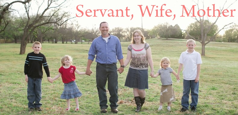 Servant, Wife, Mother