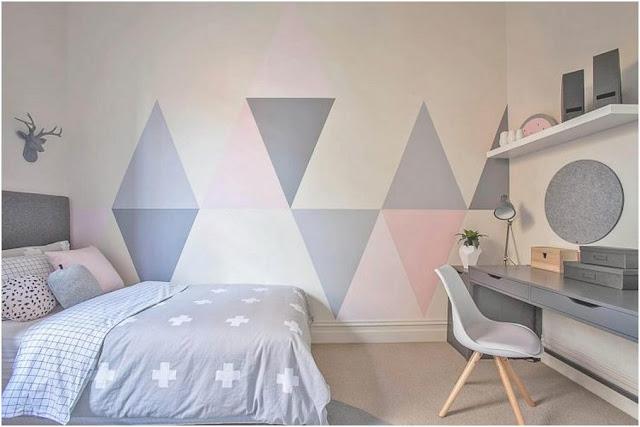 Desain kamar tidur rumah minimalis type 45