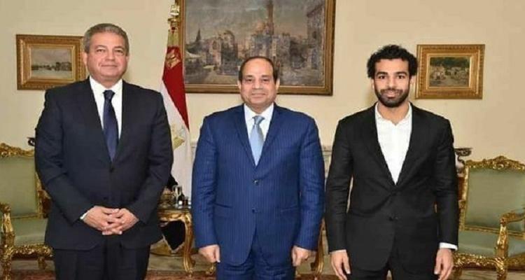 """كلام صادم من السيسي لـ""""محمد صلاح"""" بعد تبرعه لمصر بمبلغ خيالي"""