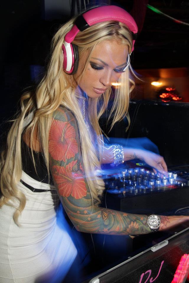 Daily Vibes Dj Megan Daniels Tattoos